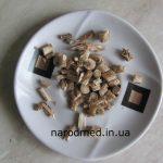 Шматочки кореня цикорію до смаження